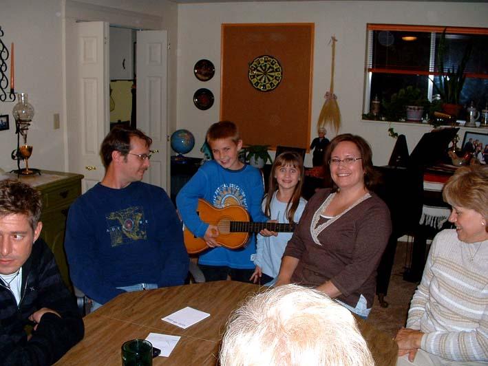 Joe, Nathan, Kaylle, Jenny