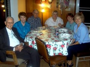 Doyle, Fay, Ray Myrna, Donna, Bobbie